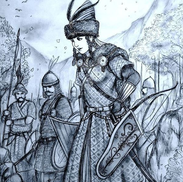 khazar-female-warrior