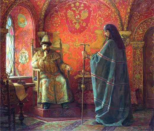 Царь Алексей Михайлович и патриарх Никон - инициаторы церковной реформы в 17 веке