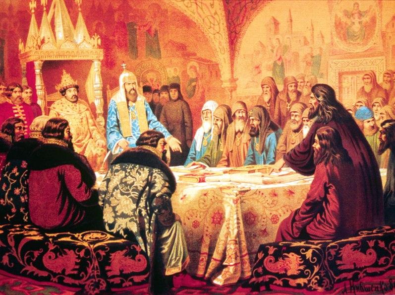 Кившенко А.Д. Патриарх Никон предлагает новые богослужебные книги