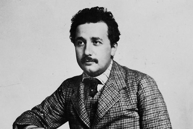 Эйнштейн в молодости
