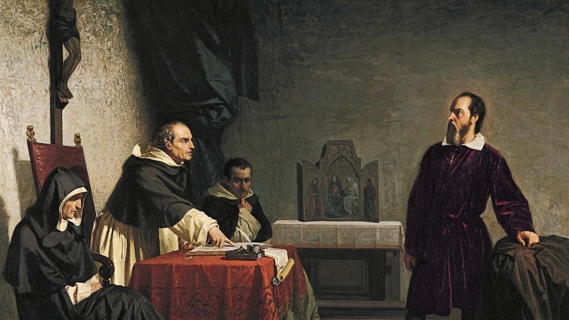 Конфликт церкви и Галилея