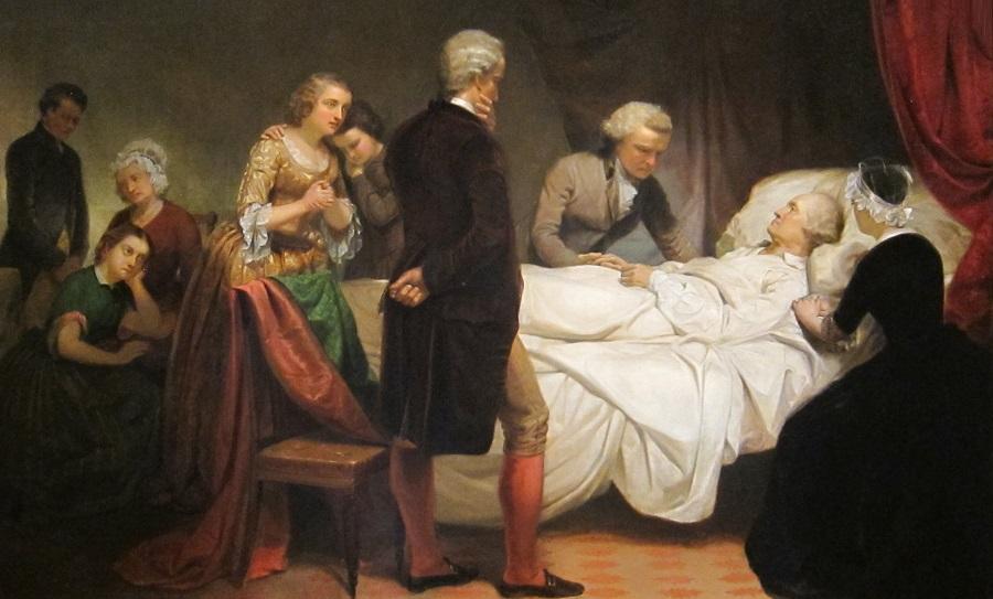 Смерть Джорджа Вашингтона