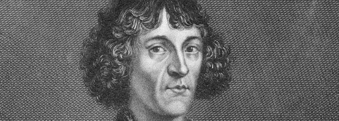 Изображение Коперника на холсте