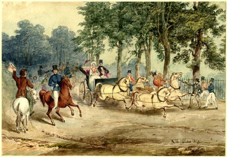 Повозка королевы Виктории