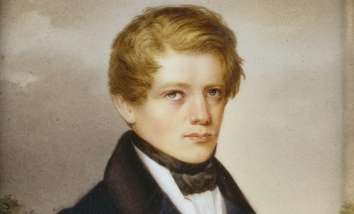 Подросток Отто фон Бисмарк