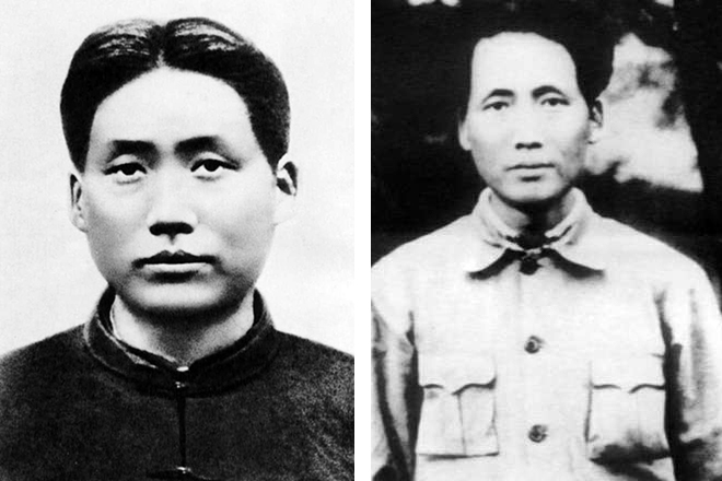 Фото молодого Мао Цзедуна