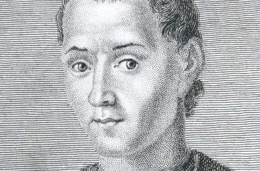 Фреска Никколо Макиавелли