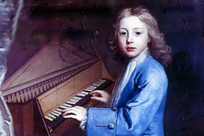 Молодой Иоганн Себастьян