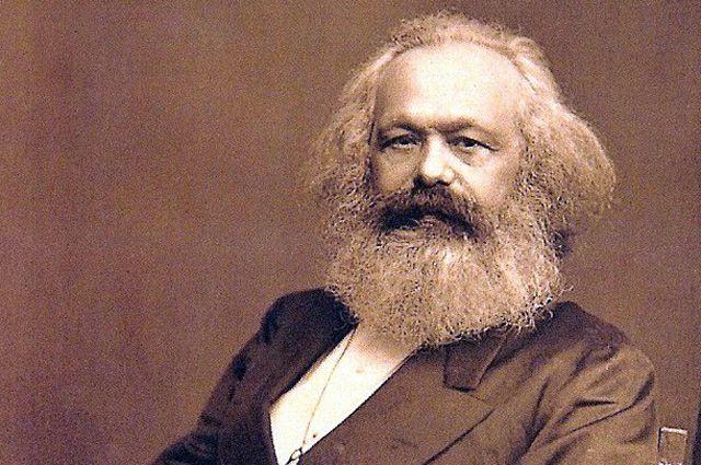 Фото Карла Маркса в возрасте