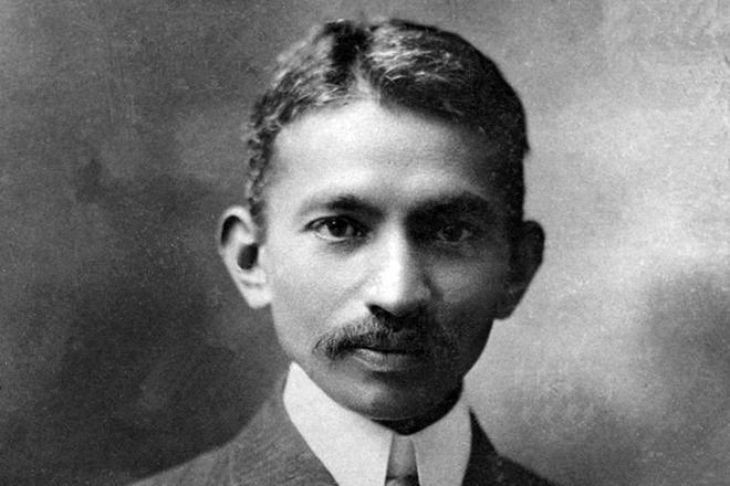 Молодой Ганди