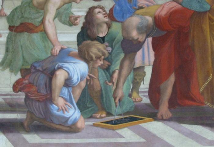 Обучение детей Евклида