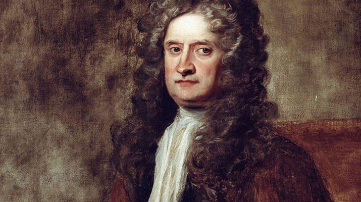 Исаак Ньютон среднего возраста