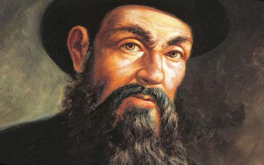 Картина с изображением Фернана Магеллана