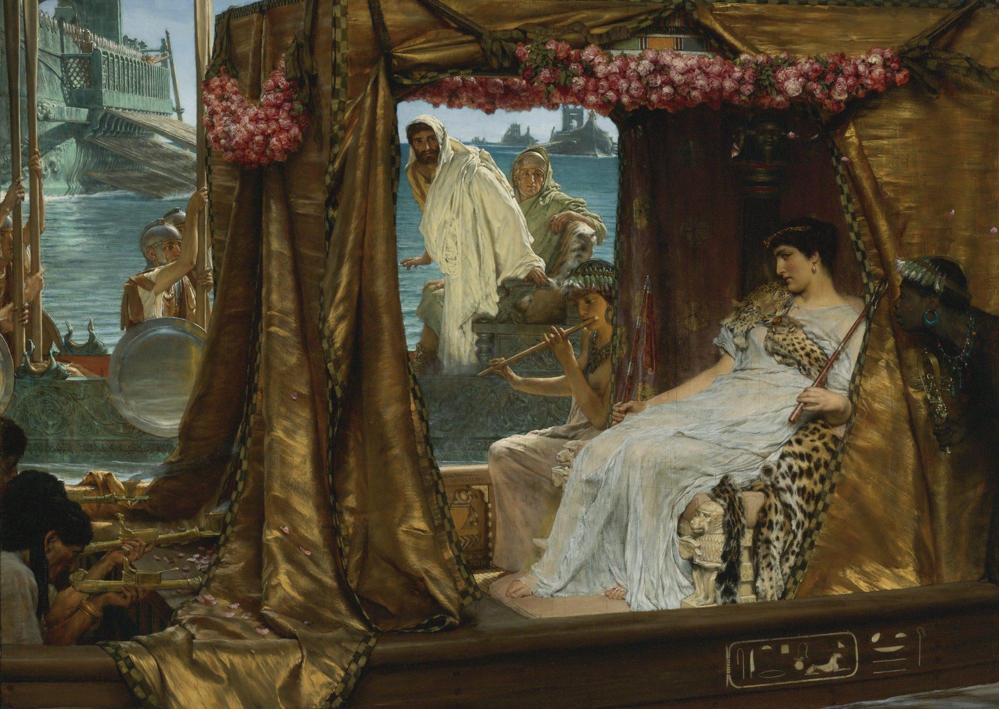 Царица отдыхает в покоях