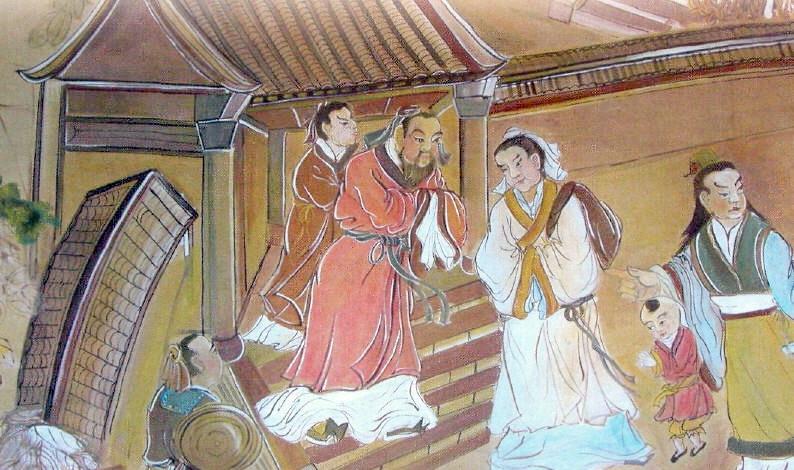 Конфуций дает советы по управлению