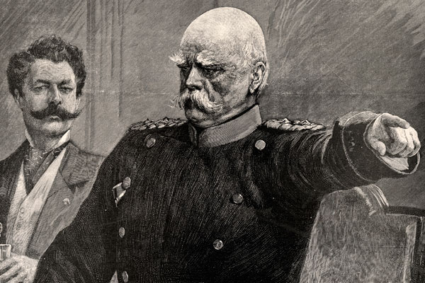Железный канцлер Отто фон Бисмарк