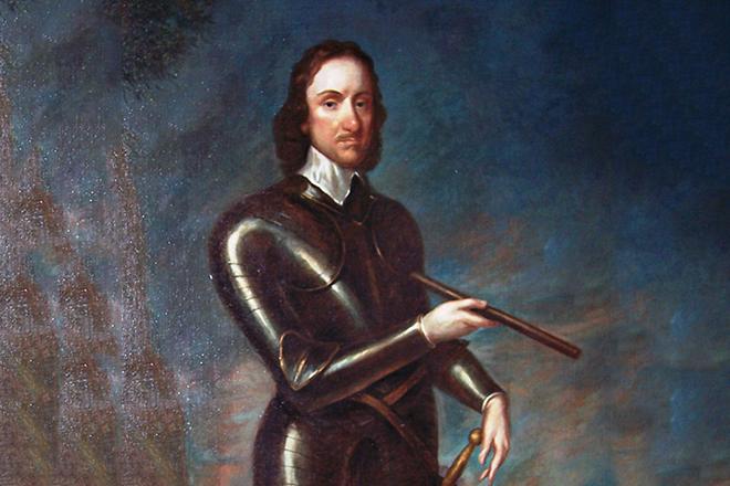 Картина с изображением Оливера Кромвеля