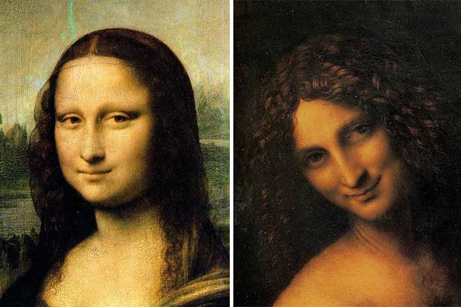 Послания в картинах да Винчи