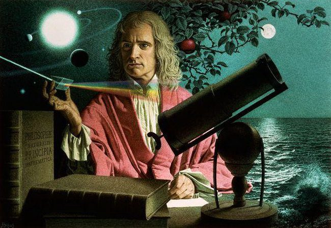 Открытия Исаака Ньютона