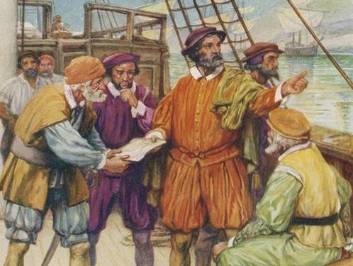Известный мореплаватель Магеллан