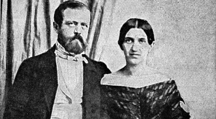 Отто фон Бисмарк со своей женой