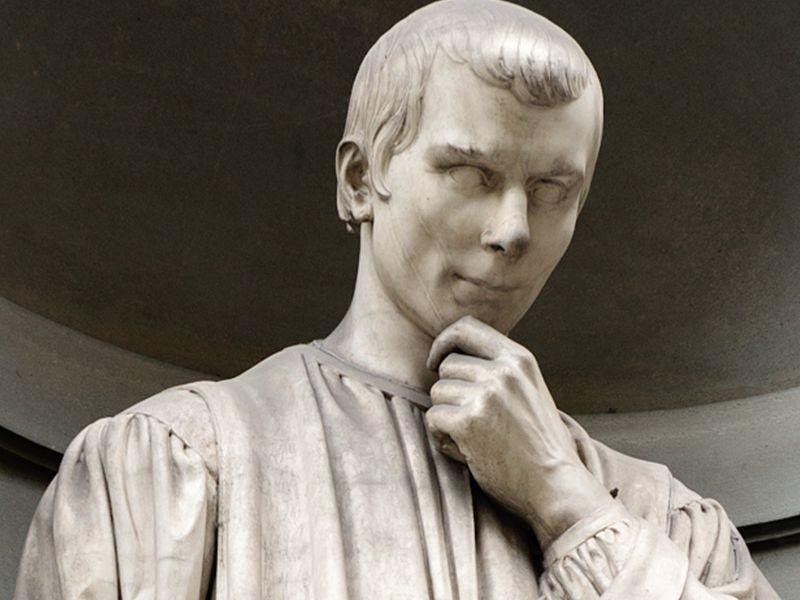 Памятник Никколо Макиавелли