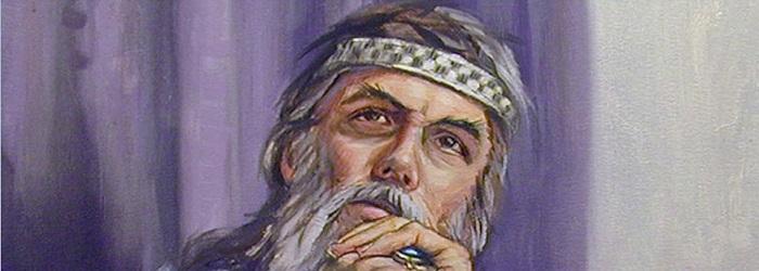 Царь Соломон - миниатюра