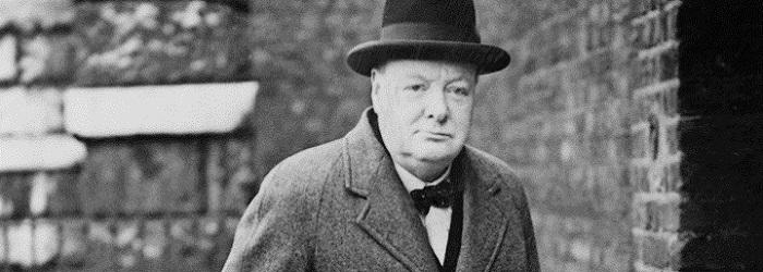 Премьер-министр Великобритании Черчилль