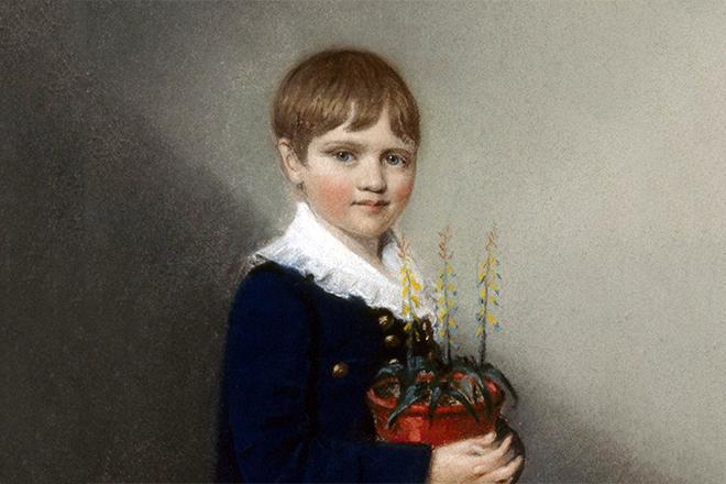 Мальчик Чарльз Дарвин