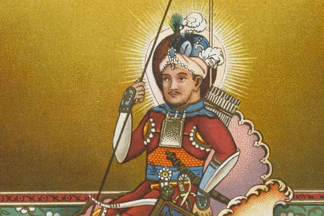 Картина эмира Тамерлана