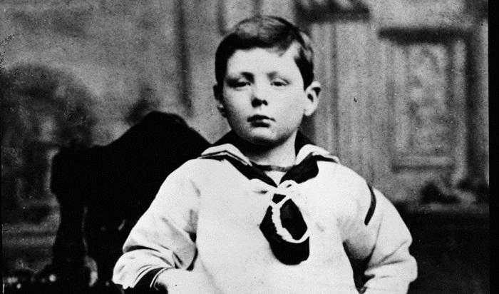 Мальчик Черчилль
