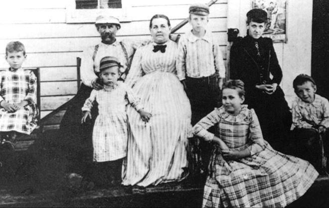 Семья Николы Тесла