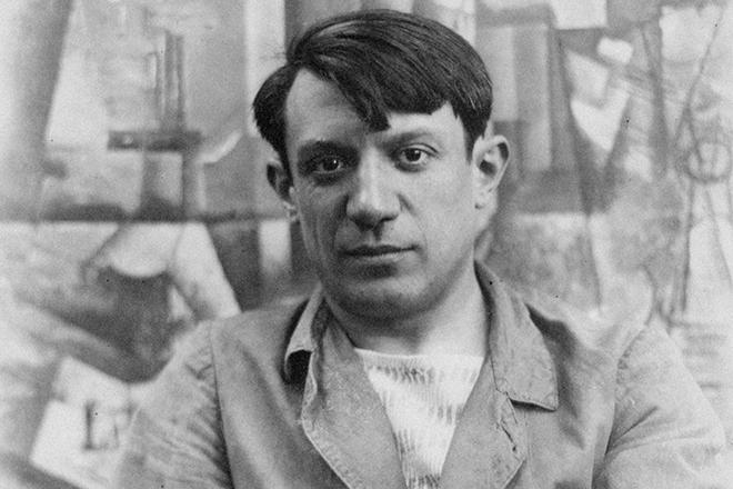 Портрет художника Пикассо