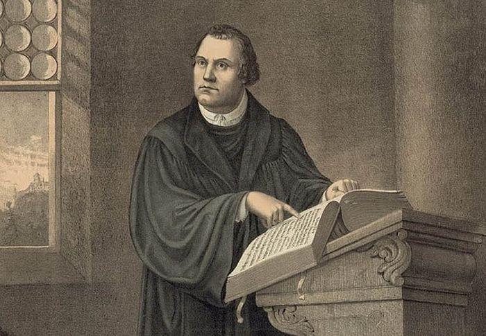 Книга Мартина Лютера
