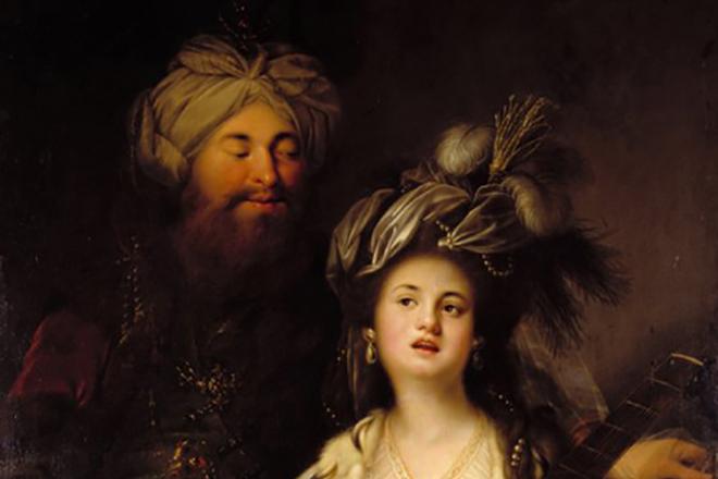 Султан Сулейман с Роксоланой