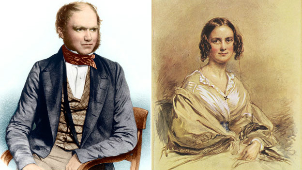 Чарльз Дарвин с женой