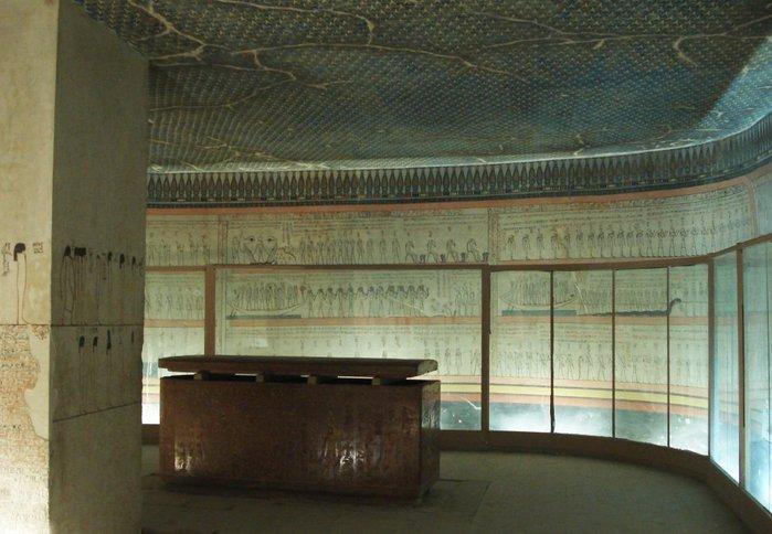 Гробница фараона Тутмоса 3