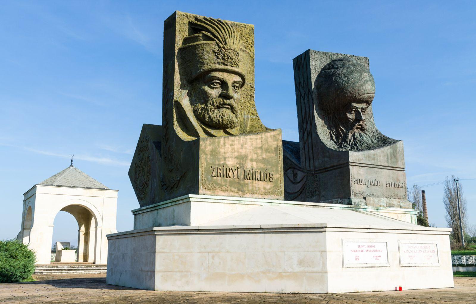 Памятник Великому султану Сулейману Османской Империи