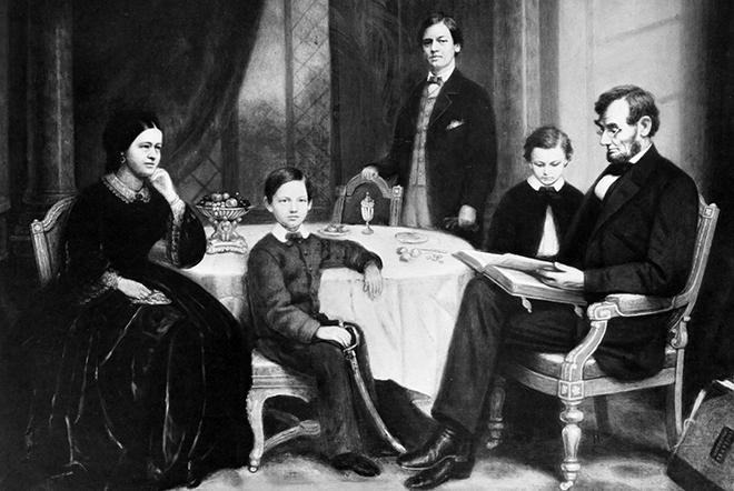 Семья Авраама Линкольна