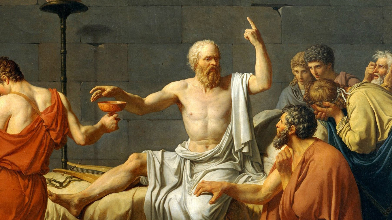 Сократ с чашей яда