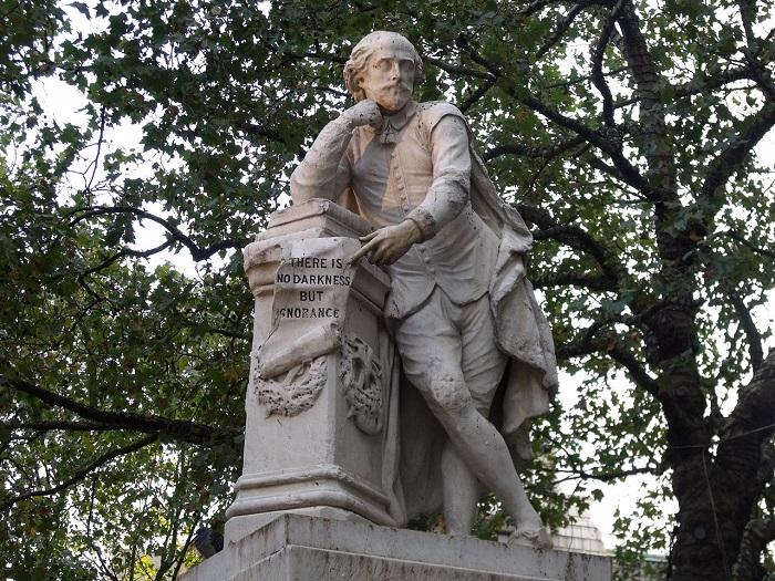 Памятник Шекспиру