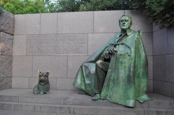 Памятник Франклину Рузвельту
