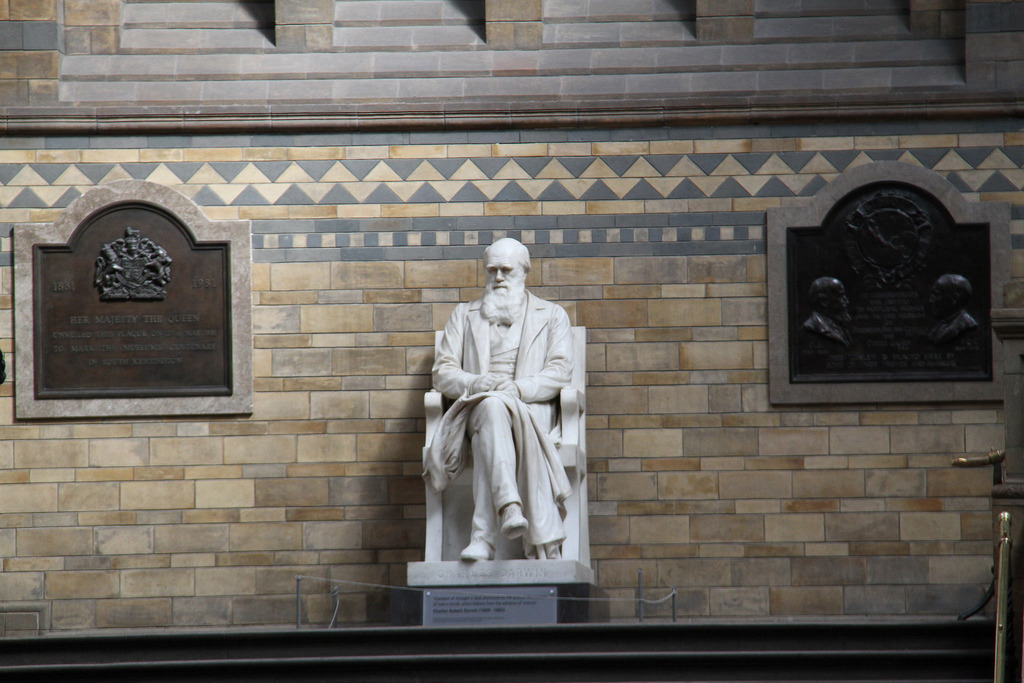 Памятник Чарльзу Дарвину