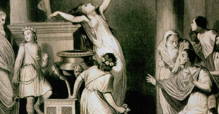 Предсказание Дельфийских оракулов рождения Пифагора