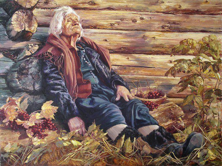 Картины про Бабье Лето