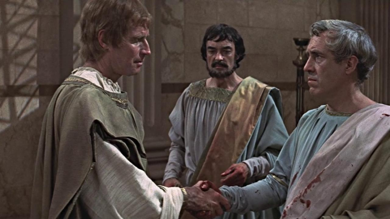 Кадр из фильма про Юлия Цезаря 1970 года
